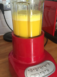 ginger-turmeric blender