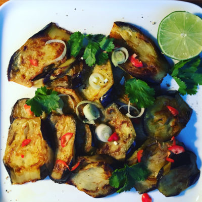 fried-aubergines