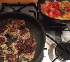 marvellous meat balls pan