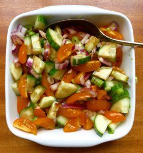 simple salad school
