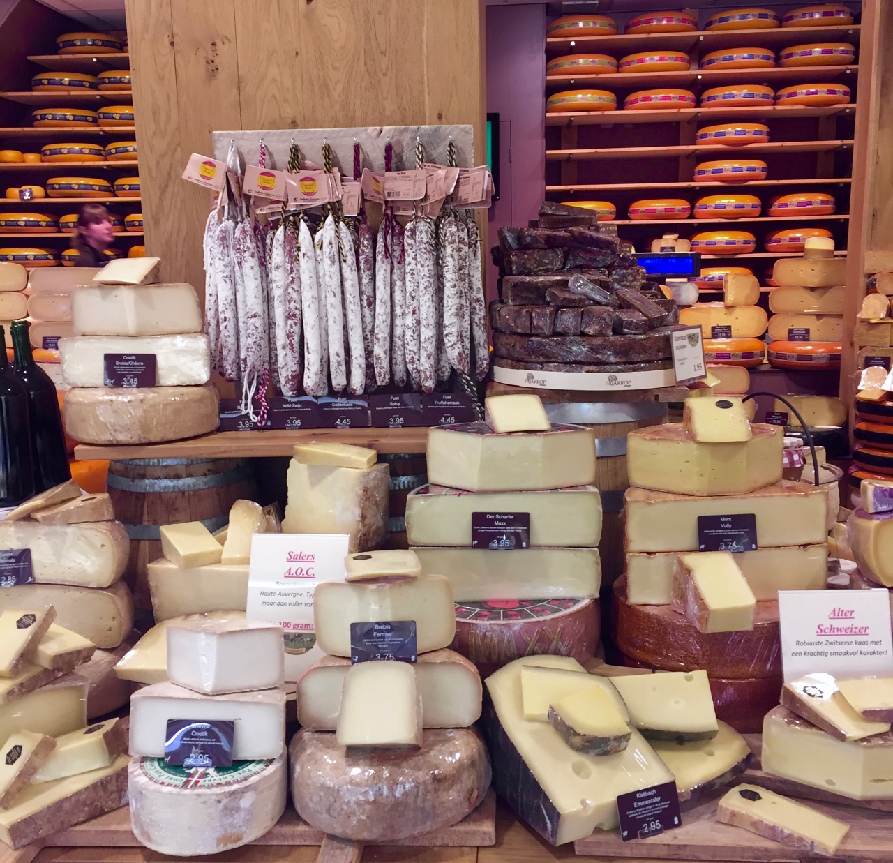Hague tasting cheese